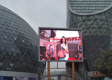 Chiny High Brightness RGB LED Screen / P10 Outdoor Full Color LED Display 320mm*160mm dostawca