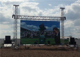 Chiny P6 Outdoor LED Video Screen Full Color , Commercial LED outdoor display board dostawca