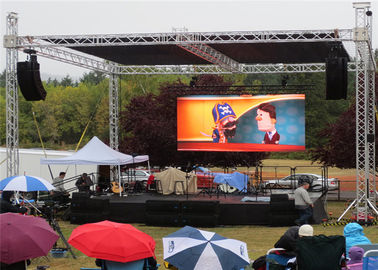 Chiny P6 Outdoor LED Video Wall Display Seamless Installation Great Visual For Public dostawca
