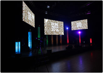 Chiny High Resolution Mp4 Led Video Wall Rental , Smd Led Display Wide Viewing Angle dostawca