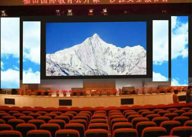 Chiny SMD Programable Full Color Outdoor Led Screen Rental P5.95mm / P6mm Seamless Cabinet dostawca