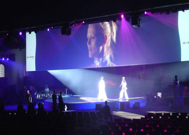 Chiny P3.91 P4.81 Aluminum Super Slim Led Screen Hire With Video Processor For Concert dostawca
