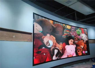 Chiny Advertisement Lightweight Front Maintenance Led Display Video Wall Iron Frame High Definition dostawca