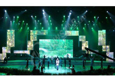 Chiny SMD High Definition Rental Led Displays , Slim Led Video Screen Rental Best Visualization dostawca