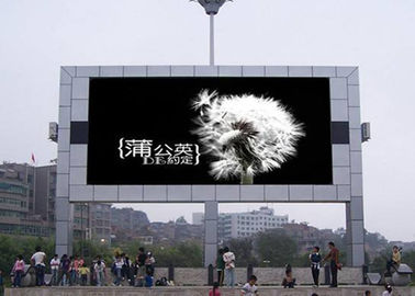 Chiny Big Size P5 Outdoor Led Billboard Advertising , Hanging Thin Led Screen 1/8 Scan dostawca