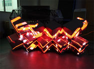 Chiny Cool Fashion P5 RGB LED DJ Booth Indoor LED Ściana wideo dla Music Bar Club fabryka