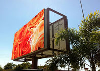 P10 Outdoor Led Digital Billboard High Resolution Full Color Real Pixels
