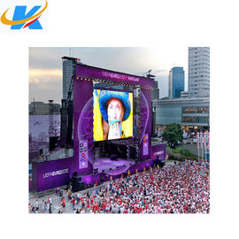 SMD Full Color Outdoor Rental Ekran led 4mm Pixel Pitch Aluminiowa obudowa
