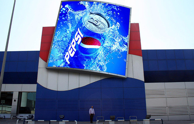 Good Waterproof Advertising Outdoor Led Video Wall Screen SMD3535 P8 P6 P10