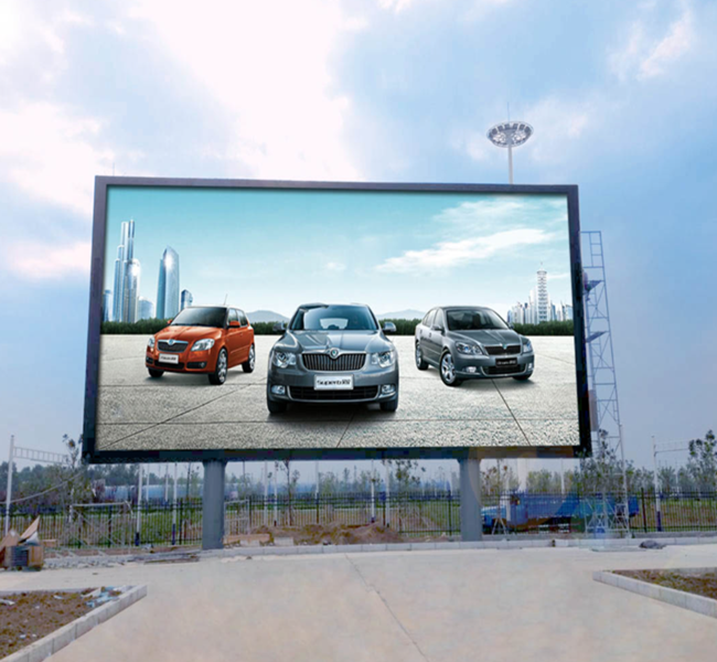 1R1G1B Outside Led Video Display / 6mm Led Screen Panels Weather Resisted