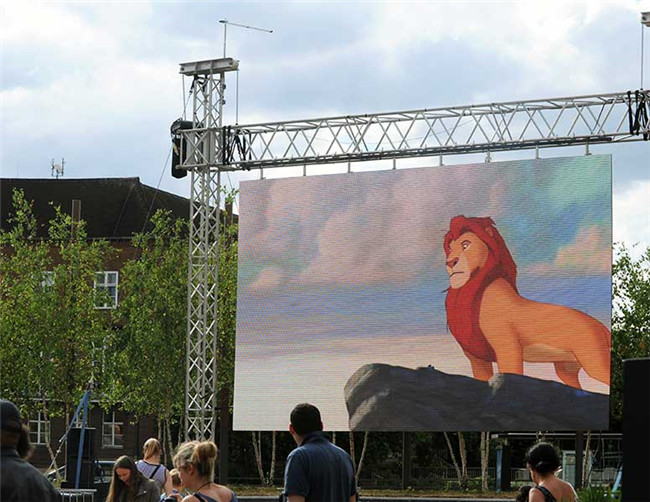 Indoor / Outdoor Giant LED Video Walls P6 HD LED Panels For Rental