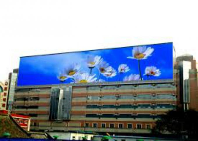 320x160mm Large LED Outside Display Boards Screen With Iron / Alumium Cabinet