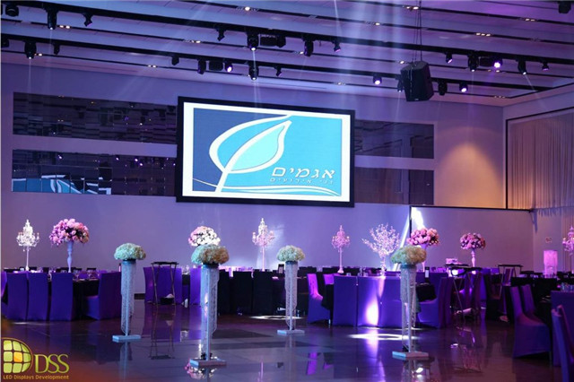 2.5Mm Meeting Rent Stage LED Screen Outdoor Waterproof and Weatherproof