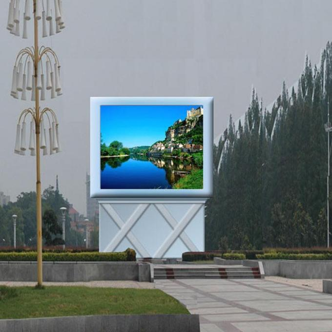 Rgb Smd3535 10mm Outdoor Led Displays Big Massive Video Wall Great Waterproof