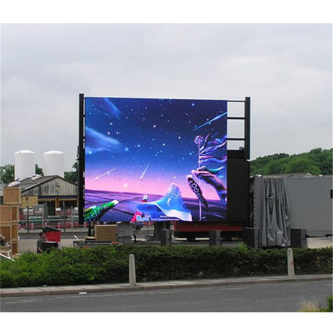 Weatherproof Outdoor SMD Led Screen For Advertising  110-220v Rgb Led Panel Energy Saving